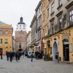 Streets of Lublin old town