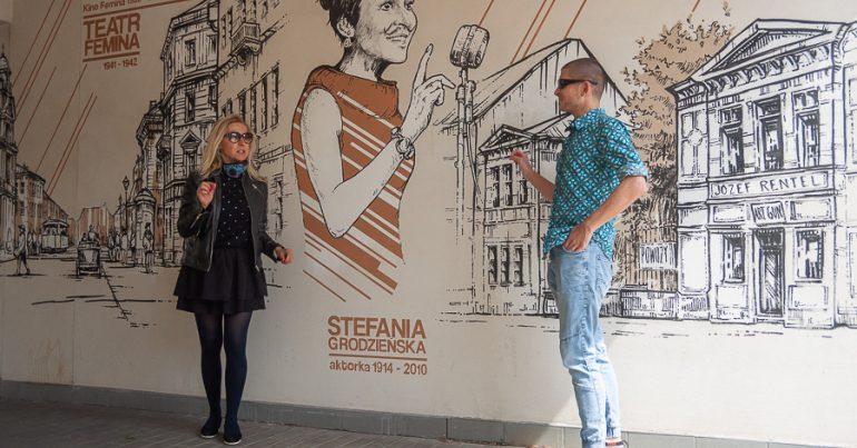 Muranów - historia street artem malowana